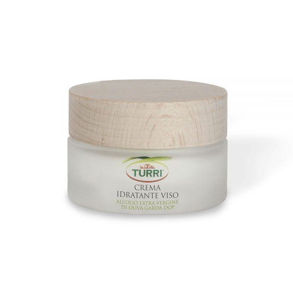 crema viso idratante Turri all'olio extra vergine di oliva Garda DOP - vaso da 50 ml