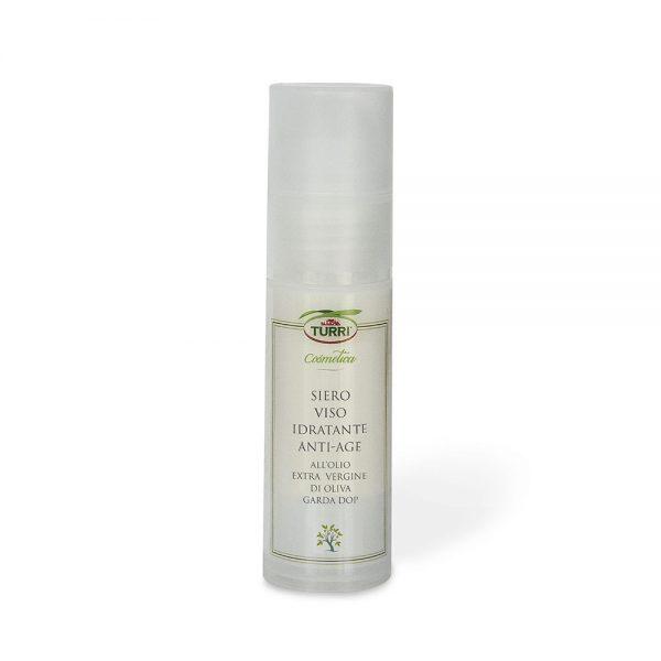 siero viso idratante anti-age all'olio extra vergine di oliva Garda DOP Turri