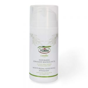 Moisturizing refreshing aftershave with extra virgin olive oil Garda DOP Turri - 100 ml tube