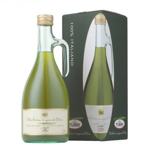 Unfiltered extra virgin olive oil Frescoliva Turri - 1L bottle with box