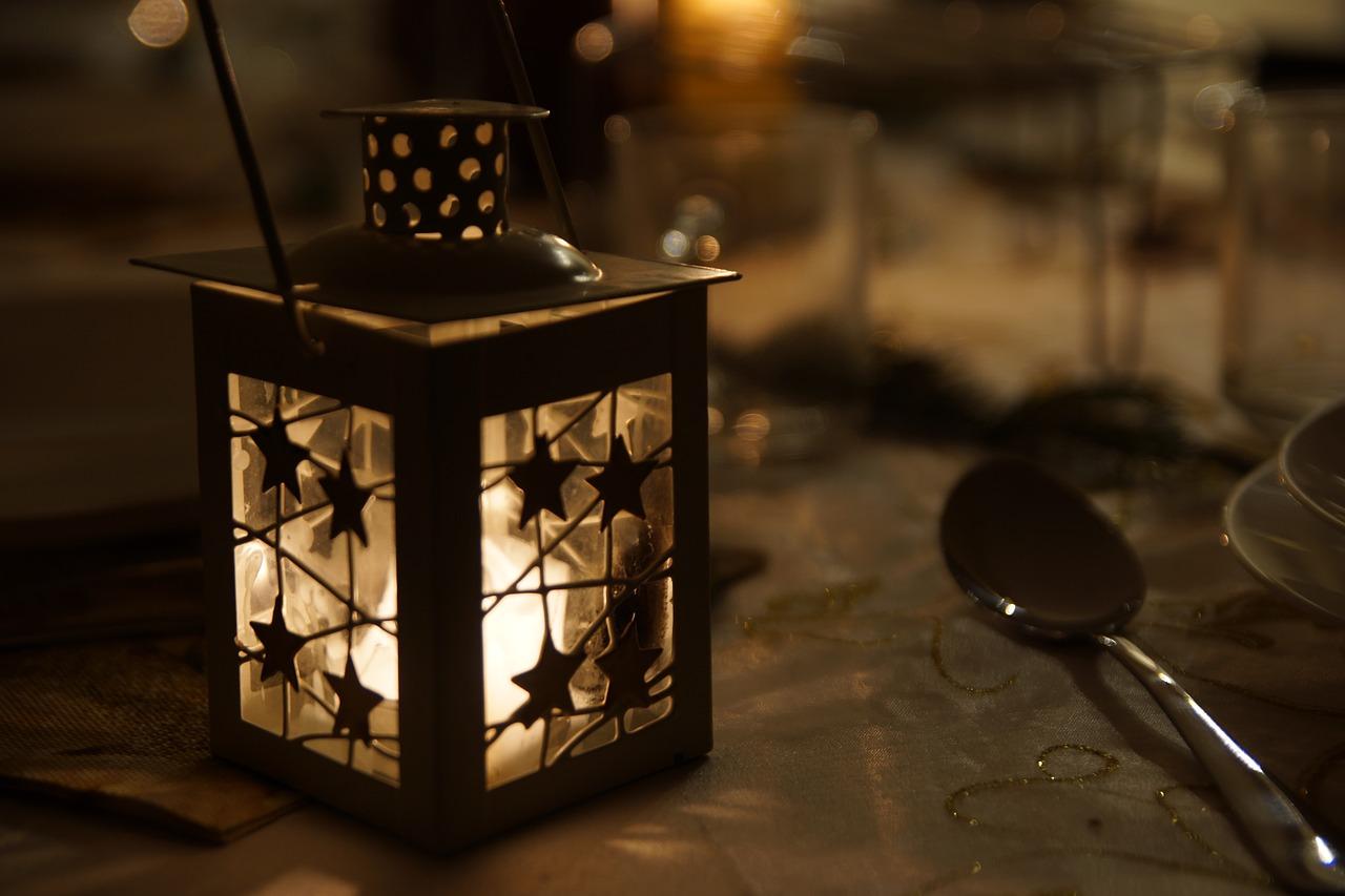 candela per il Natale