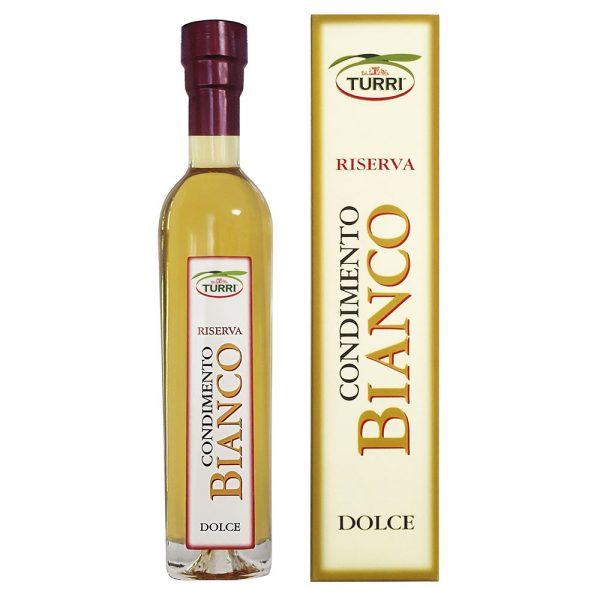 Condimento Bianco Dolce Turri - bottiglia da250 ml