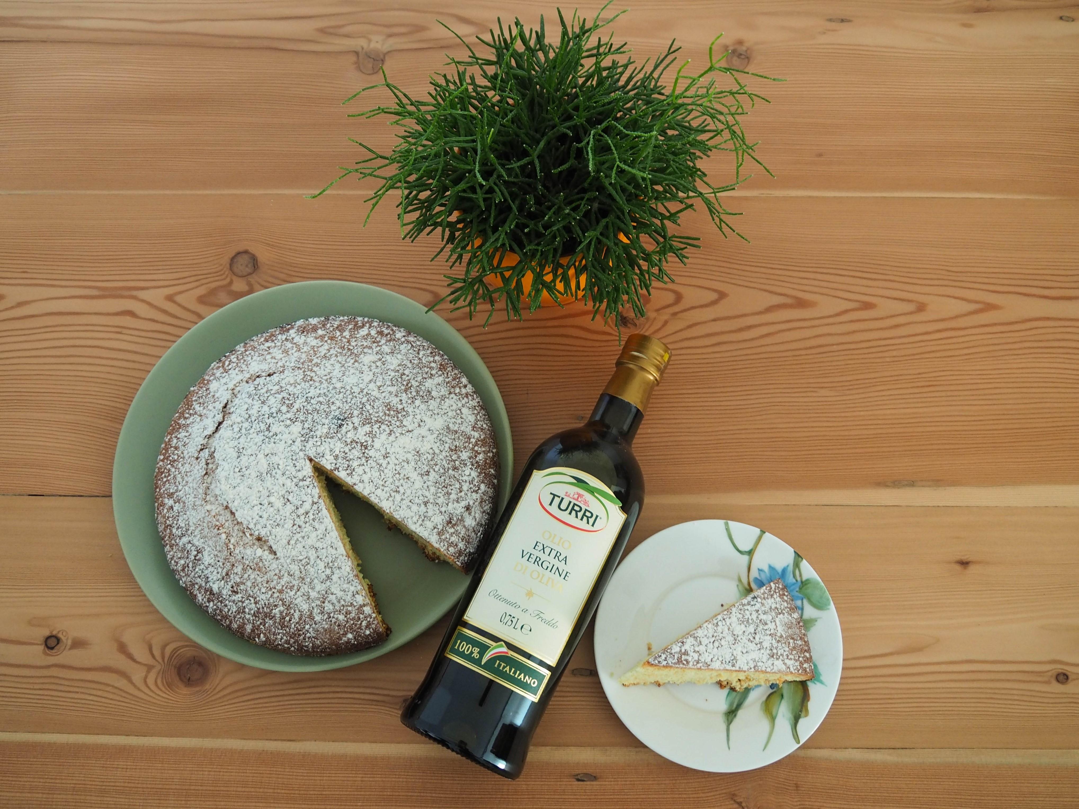 Ricetta Torta Paradiso all'Olio Extravergine d'oliva Turri