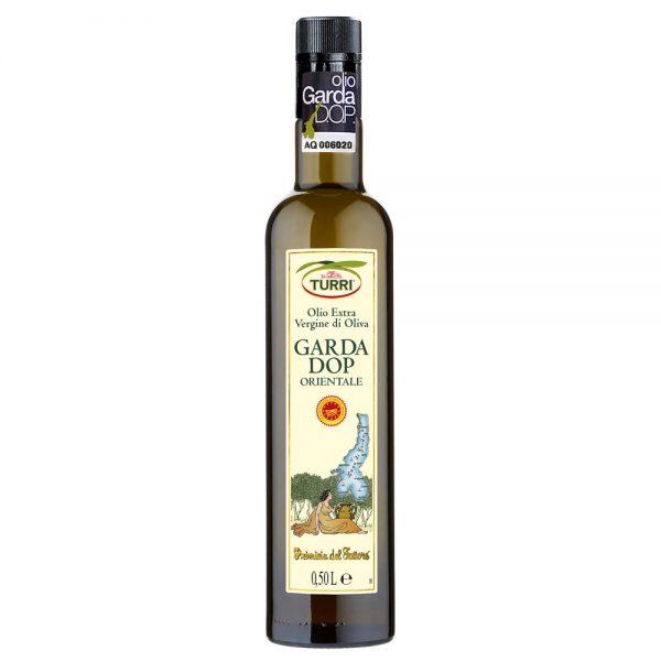 olio extra vergine Garda DOP Orientale Primizia del Fattore Turri bottiglia da 0,50 L