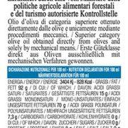 retro etichetta olio extra vergine di oliva Garda DOP Orientale Turri Primizia del Fattore – bottiglia da 0,50 L