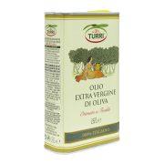 olio extra vergine di oliva Turri 100% italiano Ottenuto a freddo - lattina da 0,50 L