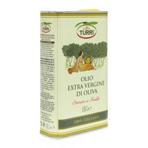 extra virgin olive oil 100% italian cold pressed Turri - 0.50 L tin