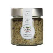 Pesto di Tartufo nero e funghi misti Turri - vasetto da 180 g