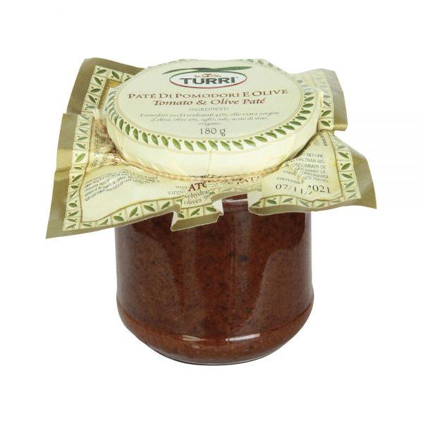 paté di pomodori e olive Turri - vasetto da 180 g
