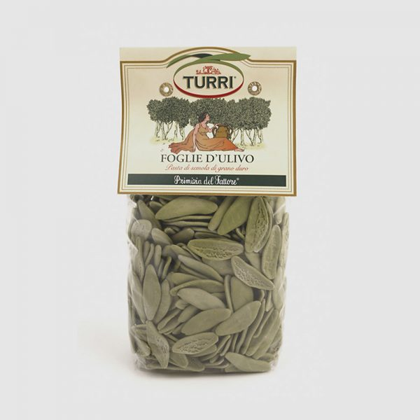pasta di semola di grano duro agli spinaci Foglie d'ulivo Turri - 500g