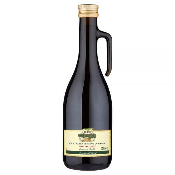 olio extra vergine di oliva Primizia del Fattore Turri - bottiglia anfora 0,75 L