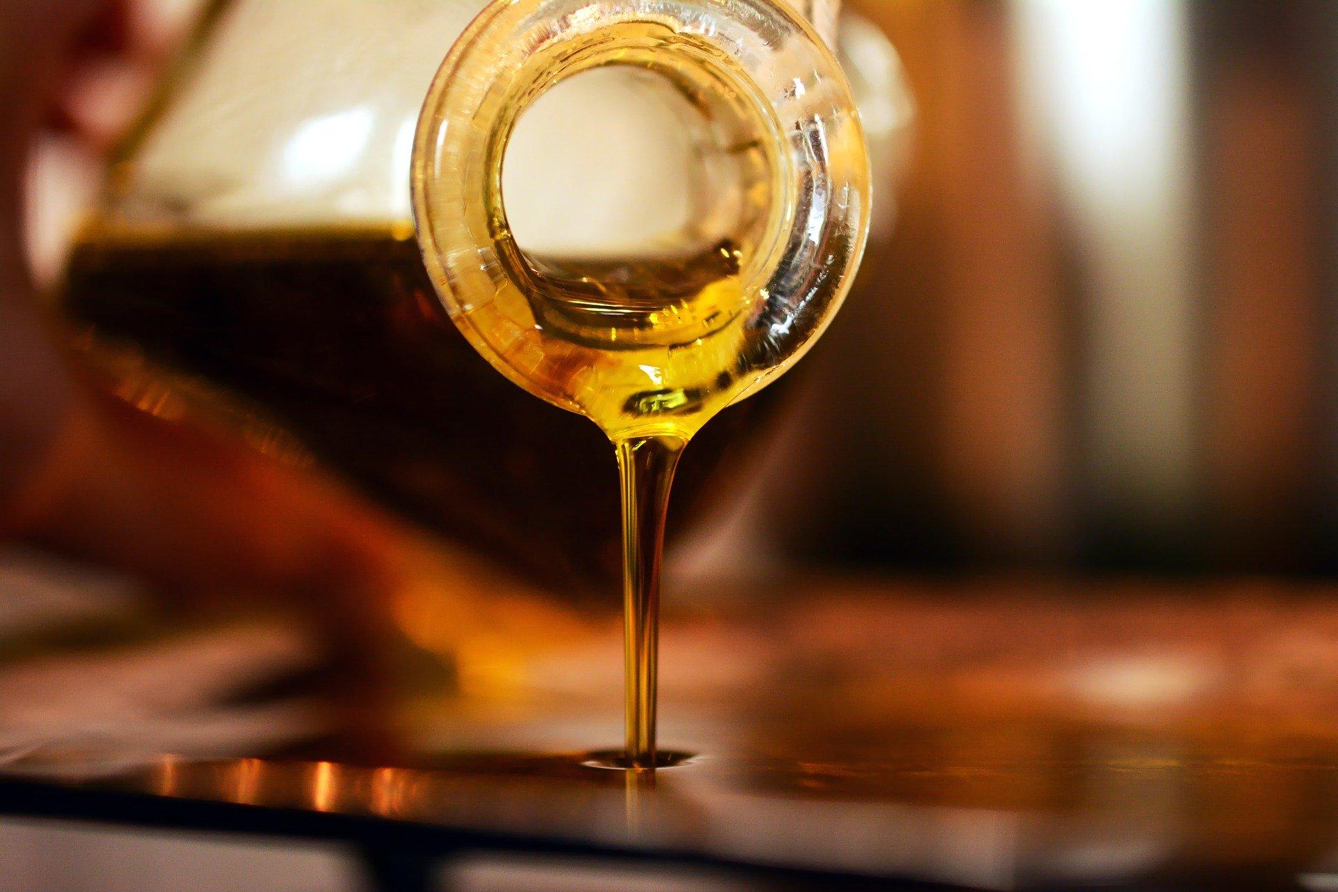 conservare l'olio