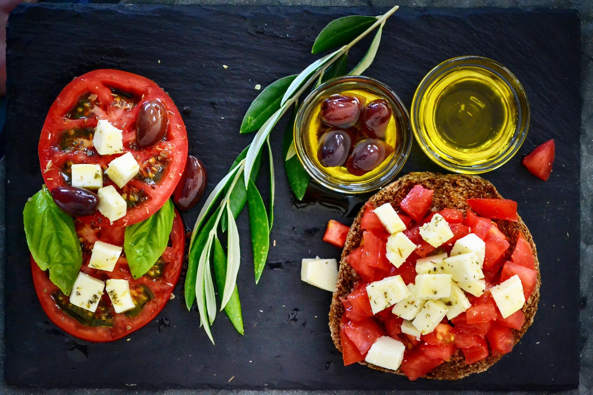 olio extravergine d'oliva dieta mediterranea